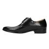 Men's leather shoes bata, black , 824-6648 - 26