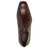 Men's leather shoes bata, brown , 824-4722 - 19
