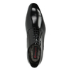 Leather shoes in an Oxford style conhpol, black , 826-6729 - 19