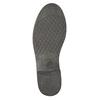 Ladies' leather ankle boots bata, black , 594-6611 - 19