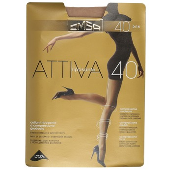 Ladies' tights omsa, brown , 919-3386 - 13