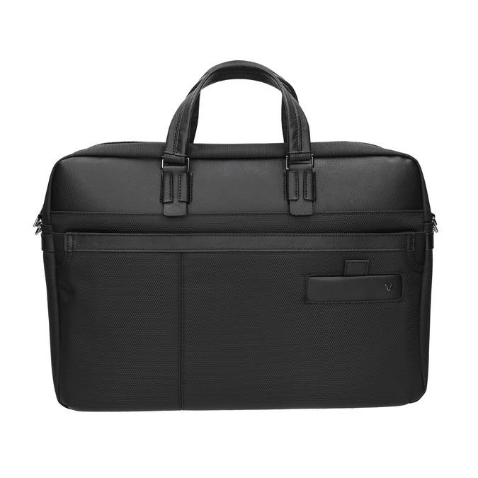 Black laptop bag roncato, black , 969-6640 - 26