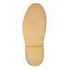 Leather Chukka boots bata, black , 824-6665 - 26