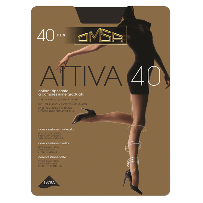 Ladies' supportive tights, black , 919-6386 - 13