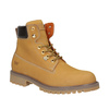 Ladies' leather  boots weinbrenner, brown , 596-8629 - 13