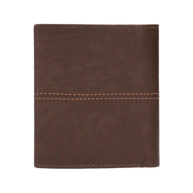 Men's quilted wallet bata, brown , 944-3176 - 19