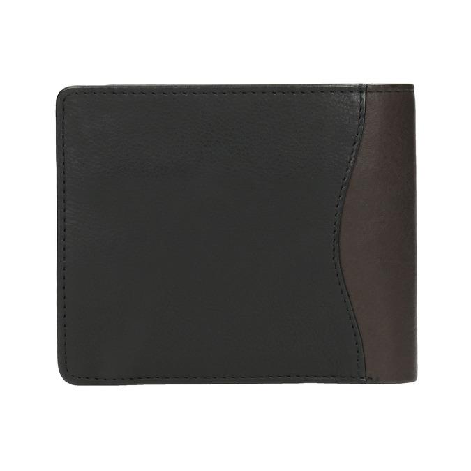 Stylish men's wallet bata, black , 944-6177 - 19