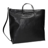 Ladies' handbag with metal handles, black , 961-6789 - 13