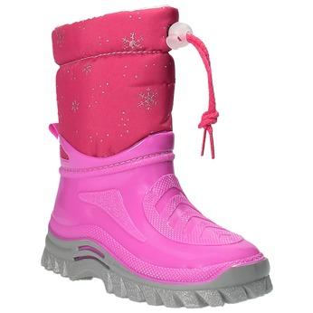 Children's insulated winter boots mini-b, pink , 292-5201 - 13