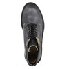 Ladies' leather ankle boots weinbrenner, gray , 596-6632 - 19