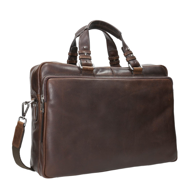 The Seymur Briefcase Bag, brown , 964-4106 - 13