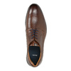 Men's brown leather shoes bata, brown , 826-4800 - 19
