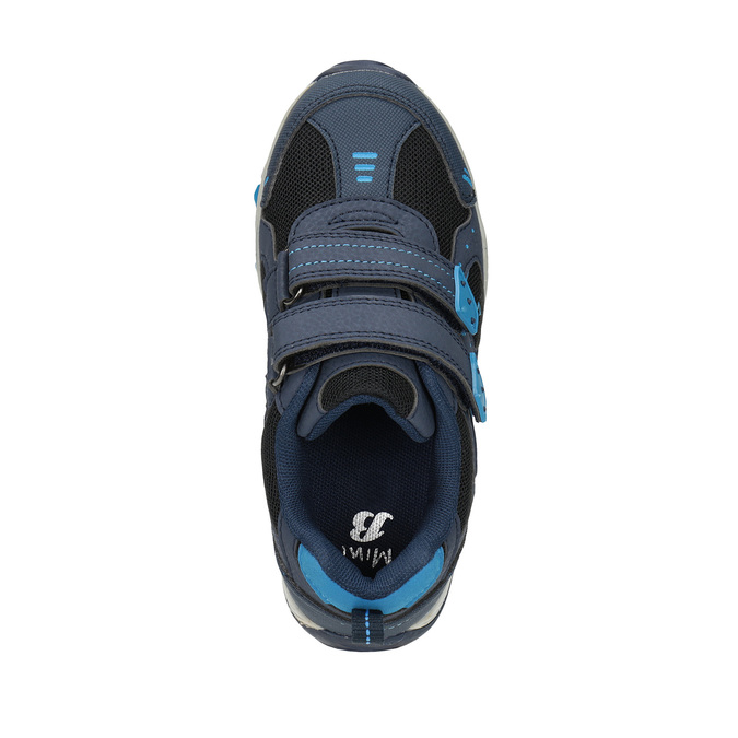Children's sports sneakers mini-b, blue , 411-9605 - 19