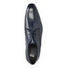 Men's blue leather shoes bata, blue , 826-9836 - 19