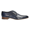 Men's blue leather shoes bata, blue , 826-9836 - 15