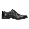 Men's leather shoes bata, black , 824-6839 - 15
