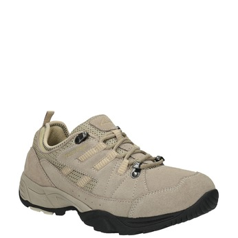 Ladies' leather outdoor shoes power, brown , 503-3118 - 13