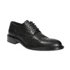 Men's leather shoes, black , 824-6292 - 13
