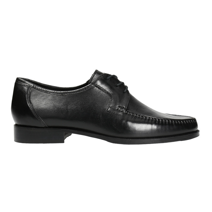Men´s shoes with quilting bata, black , 824-6838 - 15