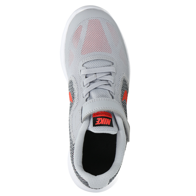 Children's sporty sneakers nike, gray , 309-2149 - 19