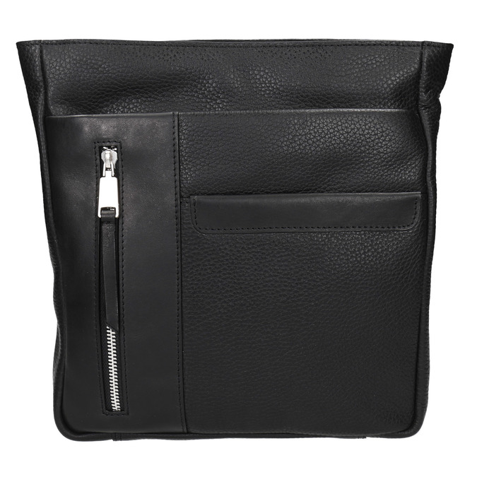 Men's crossbody bag bata, black , 964-6230 - 19