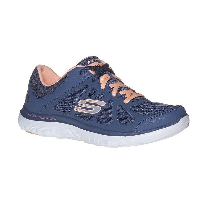 Ladies' sporty sneakers skechers, blue , 509-9963 - 13