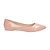 Ladies' patent-leather ballerinas bata, pink , 521-5602 - 15