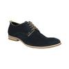 Shoes of brushed leather bata, blue , 823-9602 - 13