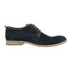 Shoes of brushed leather bata, blue , 823-9602 - 15
