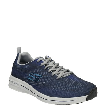 Men's sneakers with memory foam skechers, blue , 809-9141 - 13