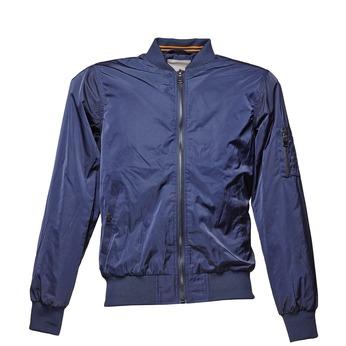Blue men's bomber jacket bata, blue , 979-9261 - 13