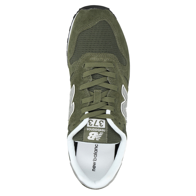 Men's leather sneakers new-balance, khaki, 803-7107 - 19