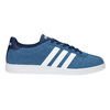 Blue leather sneakers adidas, blue , 803-9922 - 15