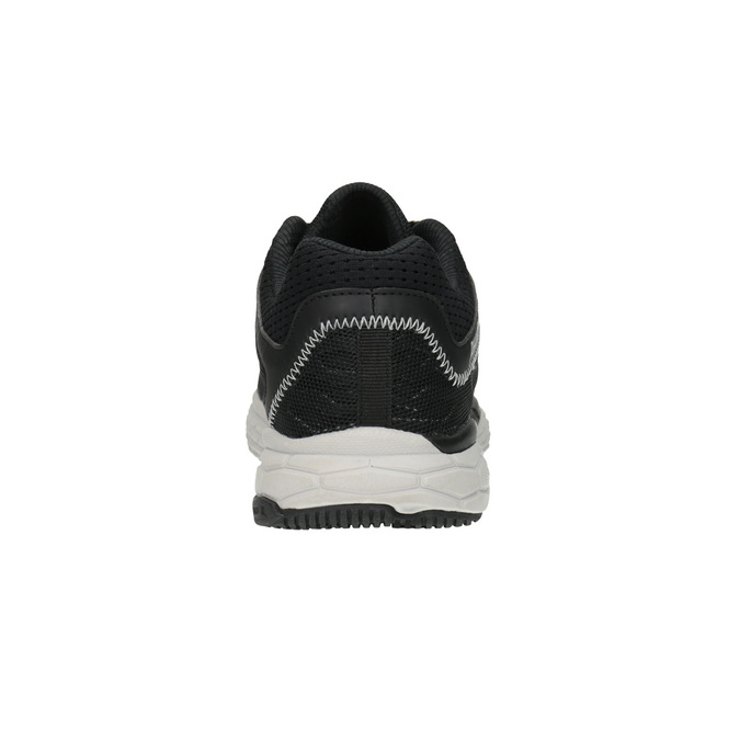 Men´s sneakers with a pattern power, black , 809-6155 - 17