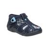 Children's blue slippers mini-b, blue , 179-9600 - 13