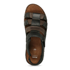 Men's leather sandals bata, brown , 866-4610 - 17