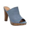 Mule slip-ons bata, blue , 769-9615 - 13