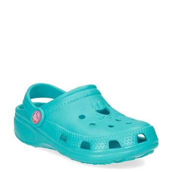 Children's turquoise sandals coqui, turquoise, 372-9605 - 13