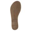 Black leather sandals bata, black , 564-6600 - 26