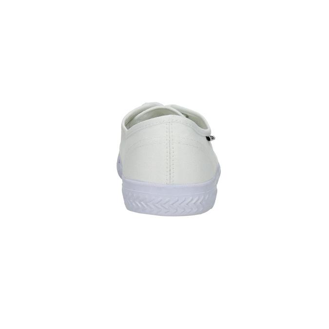 White casual sneakers tomy-takkies, white , 889-1227 - 17