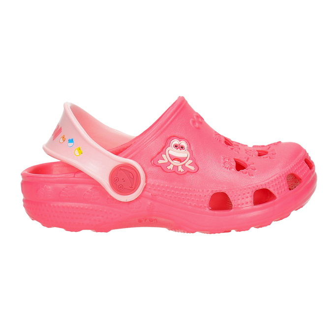 Girls' pink sandals coqui, pink , 272-5600 - 15