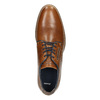 Casual leather shoes bata, brown , 826-3910 - 26