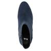 Ladies' blue ankle boots bata, blue , 799-9615 - 26
