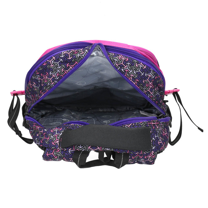 School backpack bagmaster, violet , 969-5648 - 15
