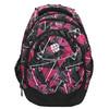 School backpack bagmaster, pink , 969-5650 - 26