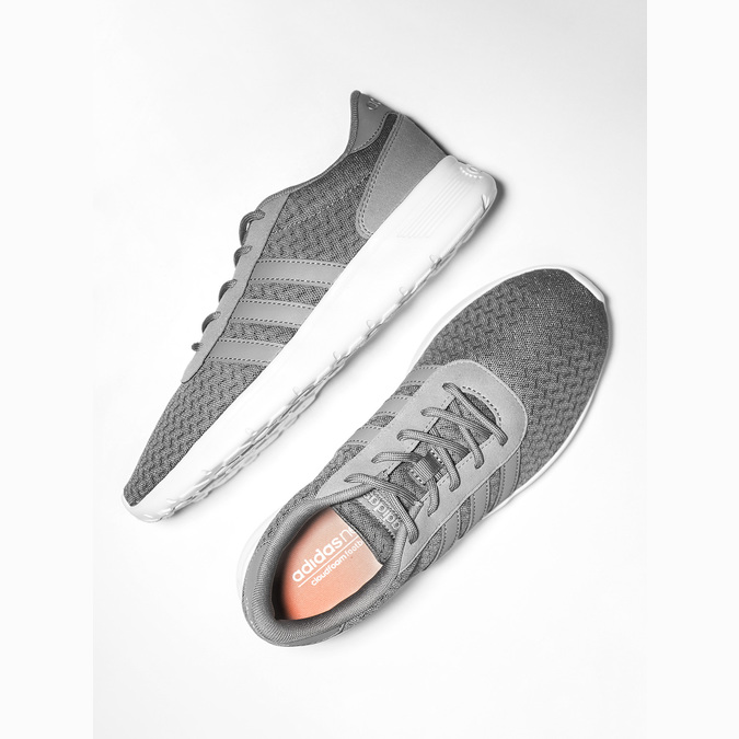 Ladies' grey sneakers adidas, gray , 509-2198 - 19