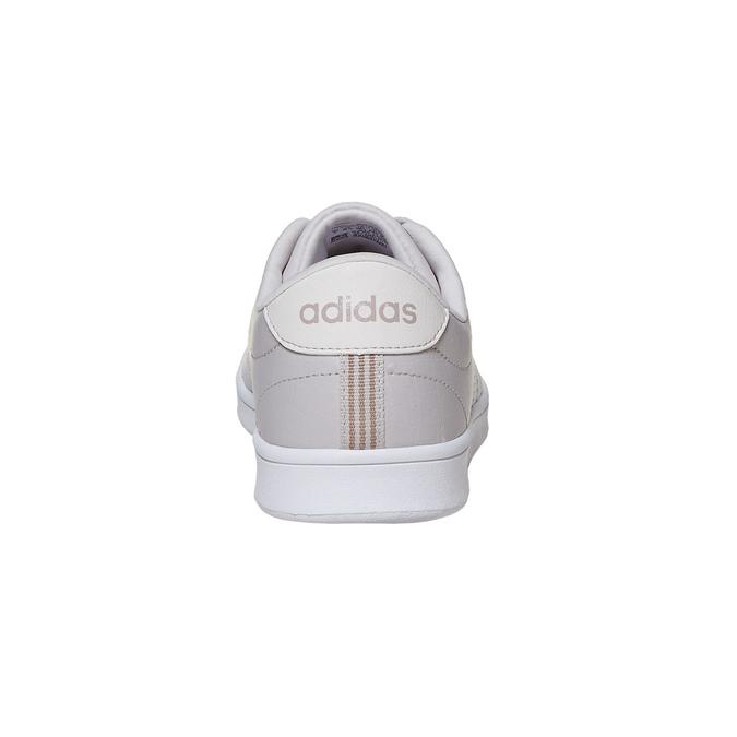 Ladies' beige sneakers adidas, beige , 501-3106 - 17