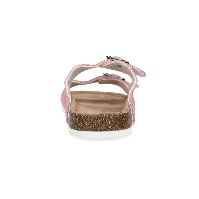 Ladies' leather sandals de-fonseca, pink , 573-5621 - 15
