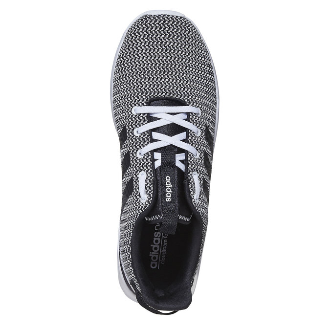 Sneakers in a sport design adidas, black , 809-6201 - 19