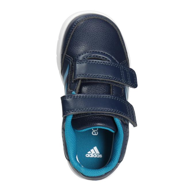 Children's Hook-and-Loop Sneakers adidas, blue , 101-9161 - 15